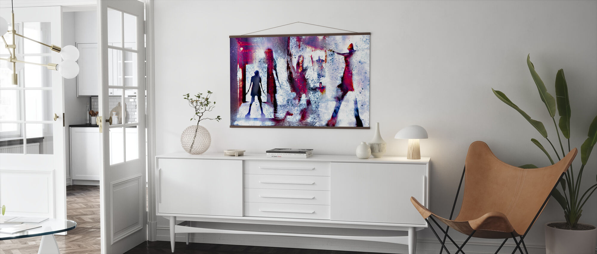 These Walls are Alive - Poster - Living Room