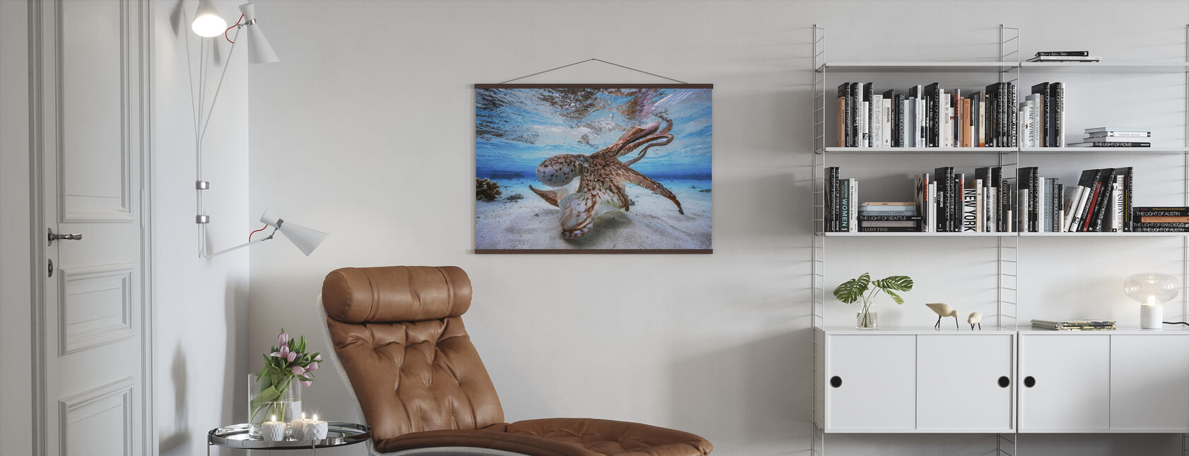 Dancing Octopus - Poster - Living Room