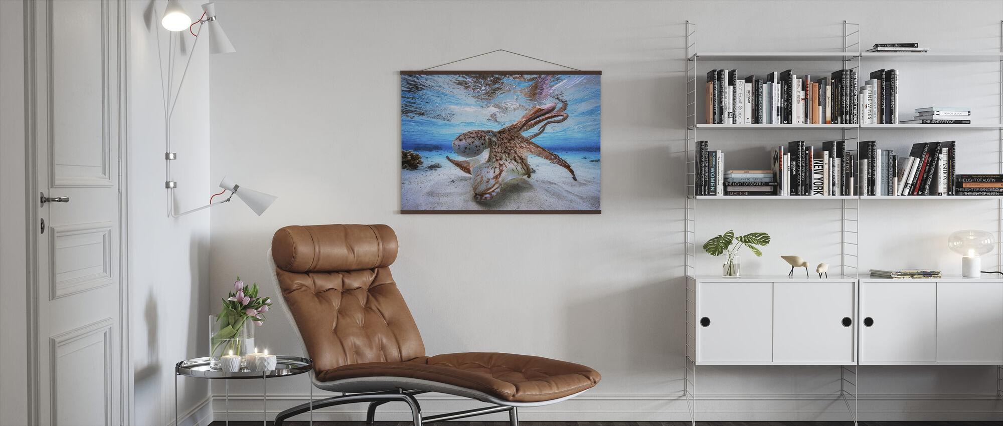 Dancing Octopus - Poster - Living Room