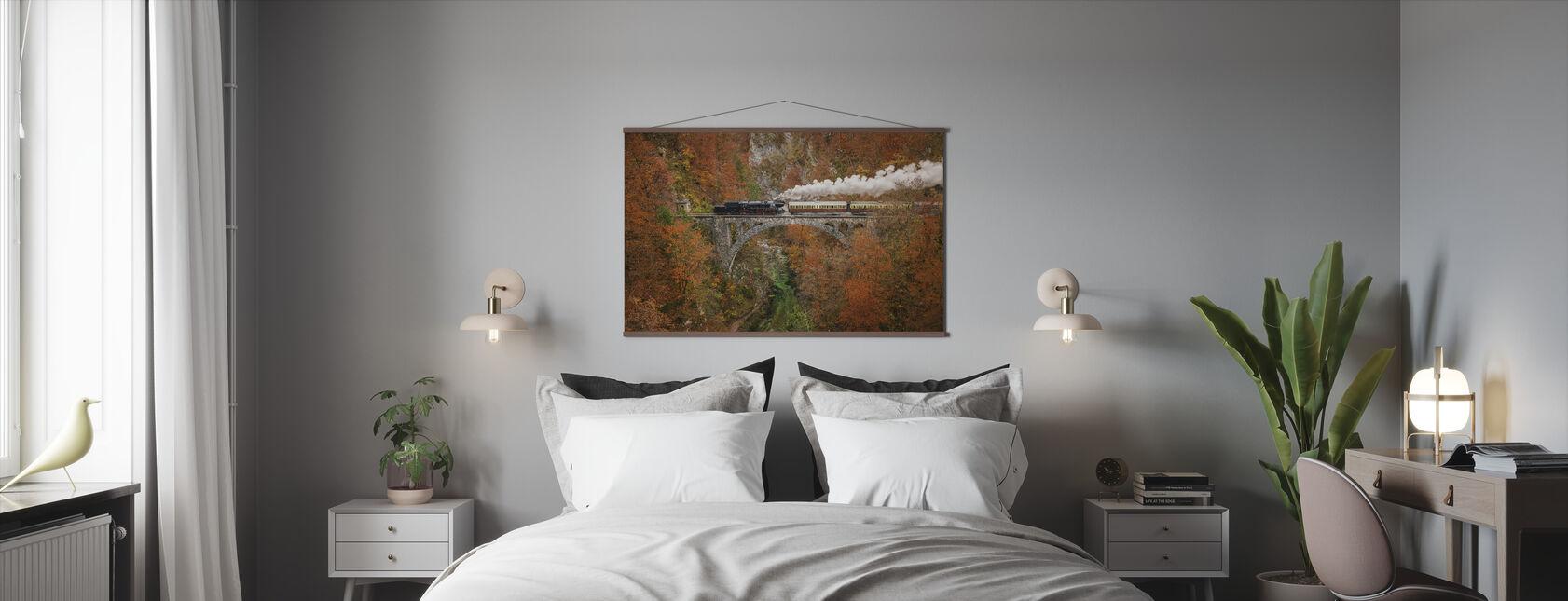 Museum Train - Poster - Bedroom