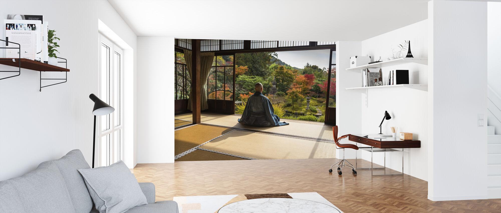 Meditation - Wallpaper - Office