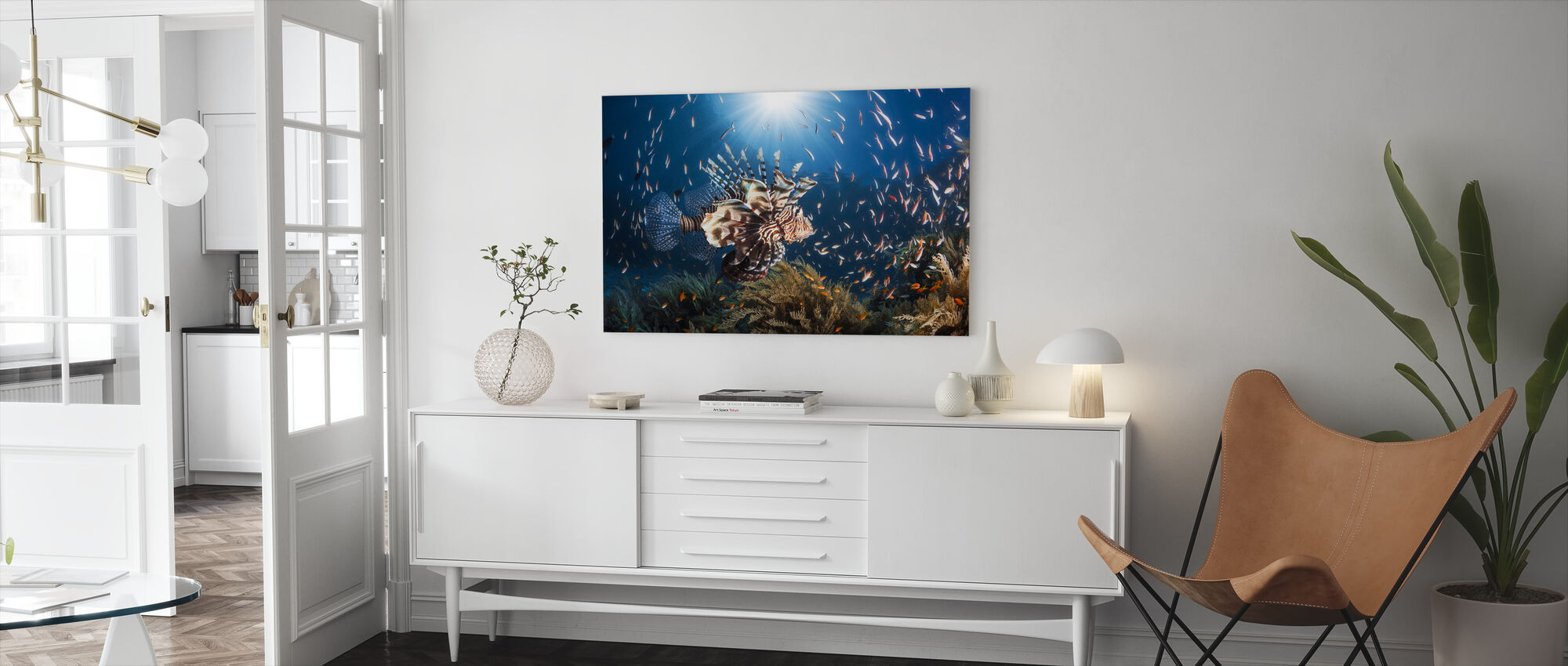 Lionfish - Canvas print - Living Room