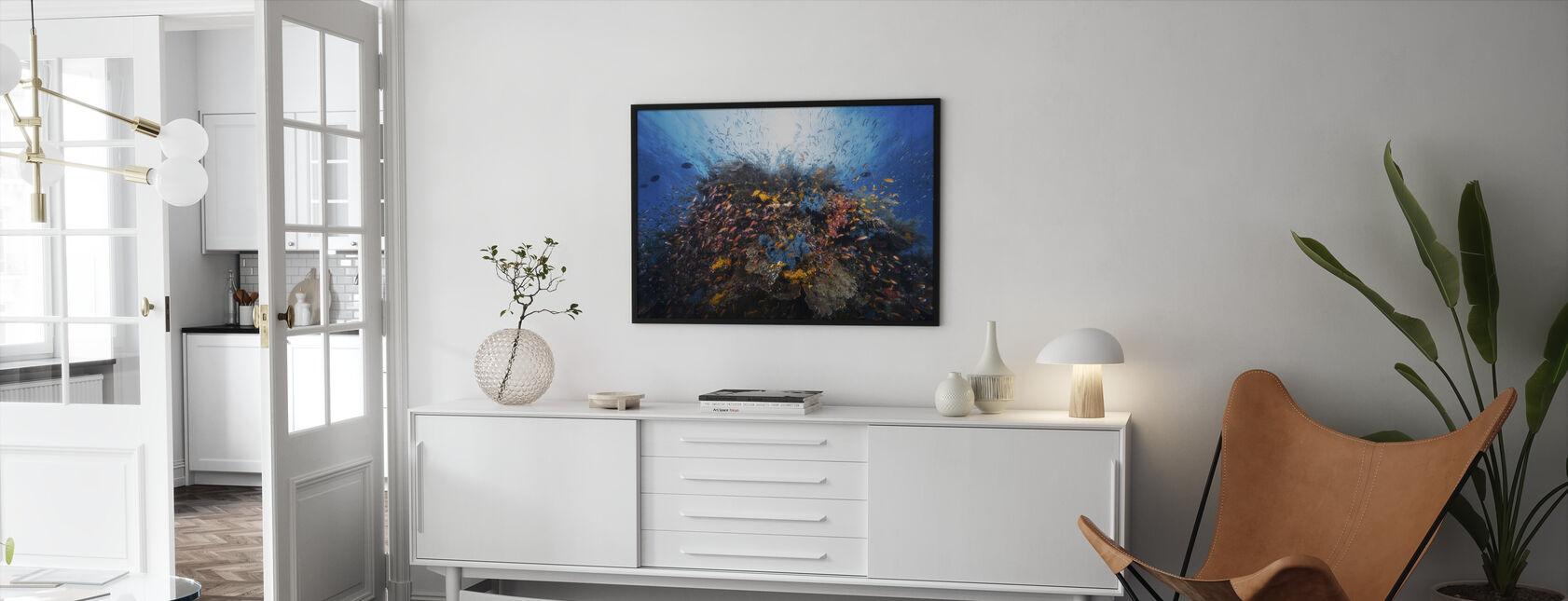 Liv Explosion - Inramad tavla - Vardagsrum