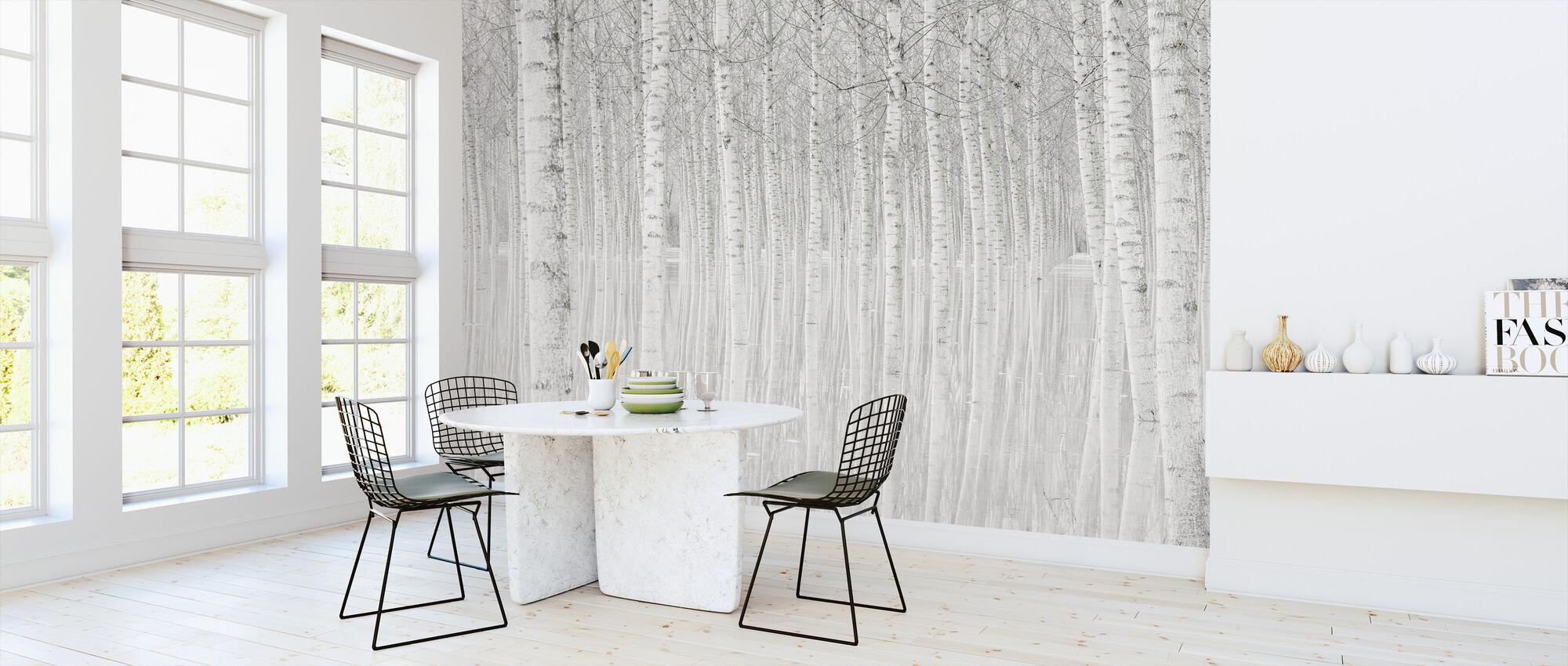 Trær - Tapet - Kjøkken