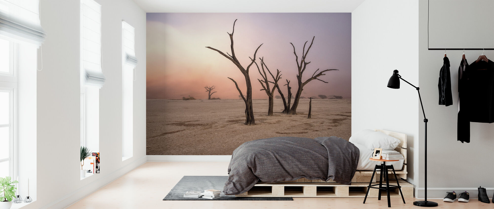 Fog in Deadvlei - Wallpaper - Bedroom