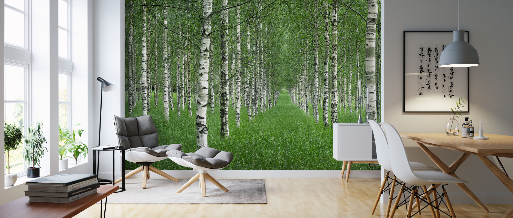 Tunnel - Wallpaper - Living Room