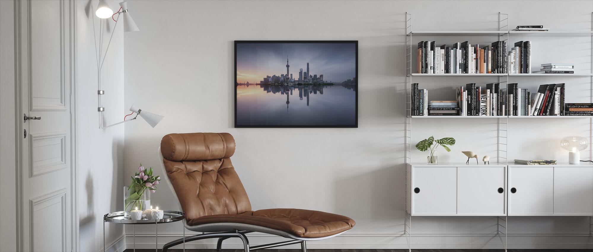 Good Morning Shanghai - Framed print - Living Room