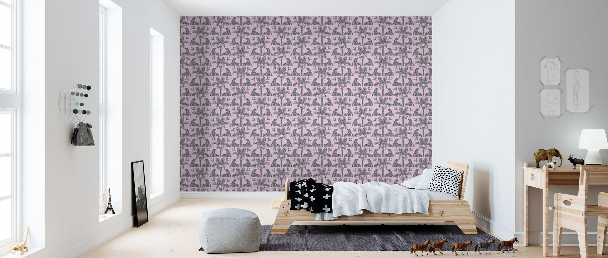 The Iguana Dream - Bubbelgum and Steel - Wallpaper - Kids Room