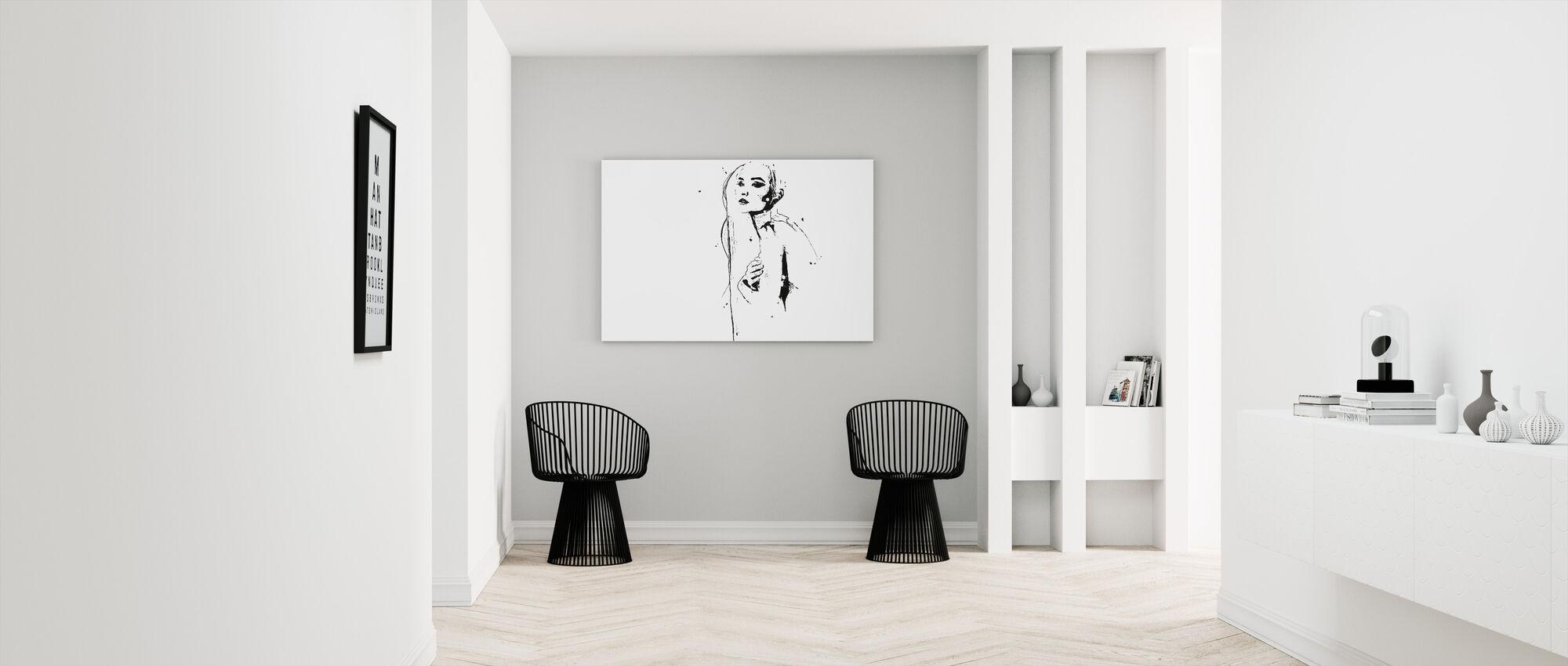 Believer - Canvas print - Hallway