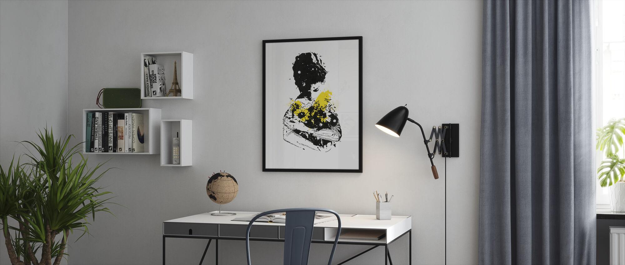 Rioter - Framed print - Office