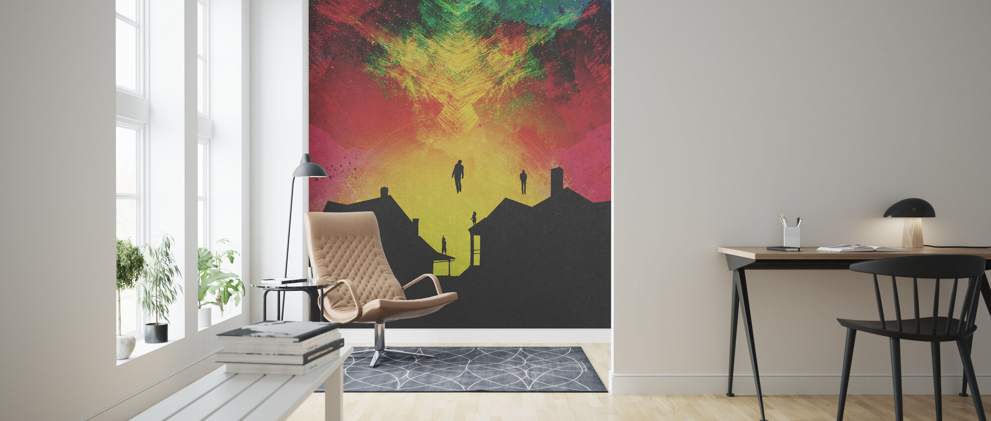Abducted - Wallpaper - Living Room