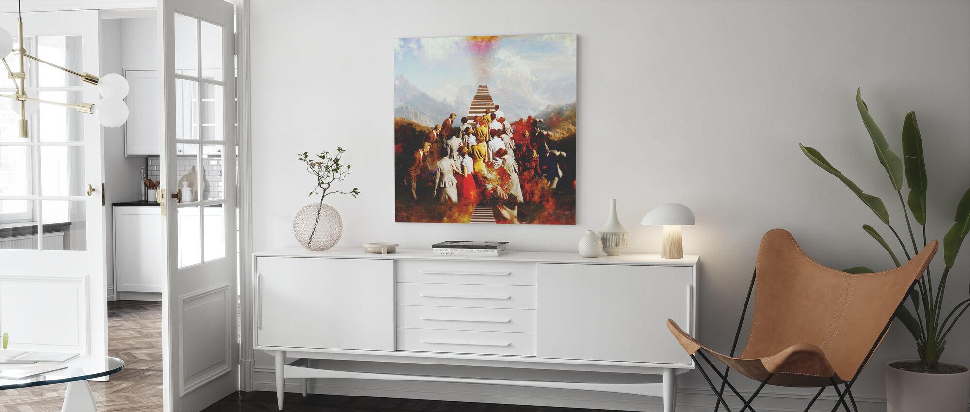 Hemelvaart - Canvas print - Woonkamer