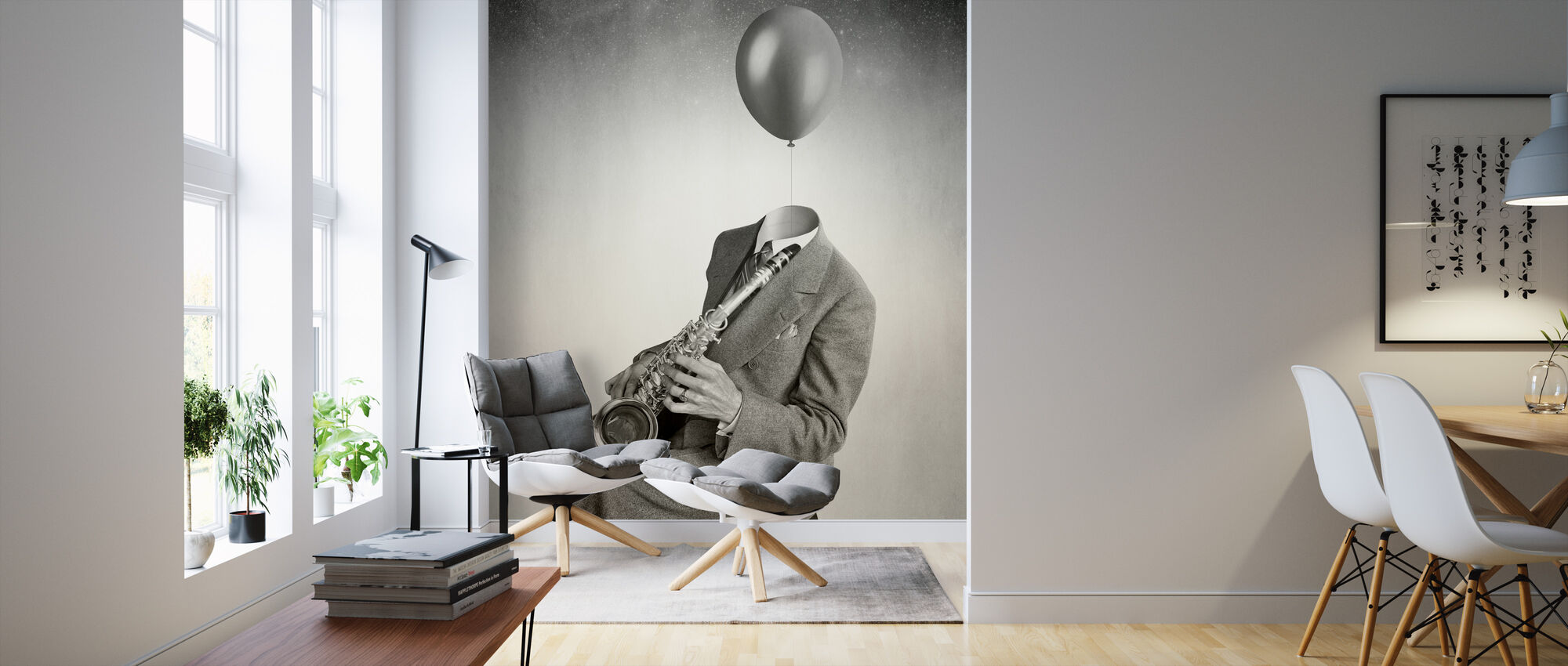 Balloon - Wallpaper - Living Room