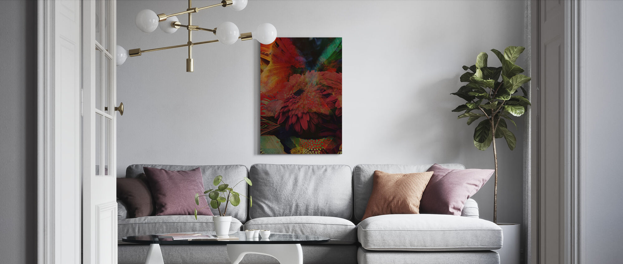 Botany - Canvas print - Living Room