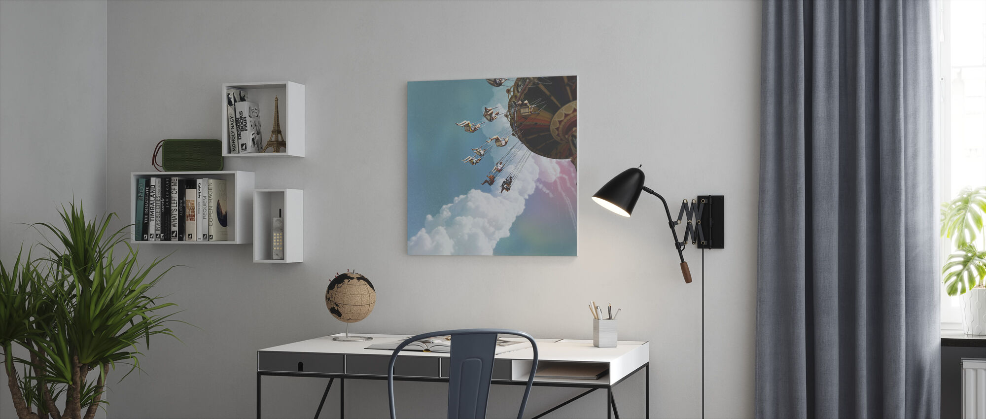 Challenger - Canvas print - Office
