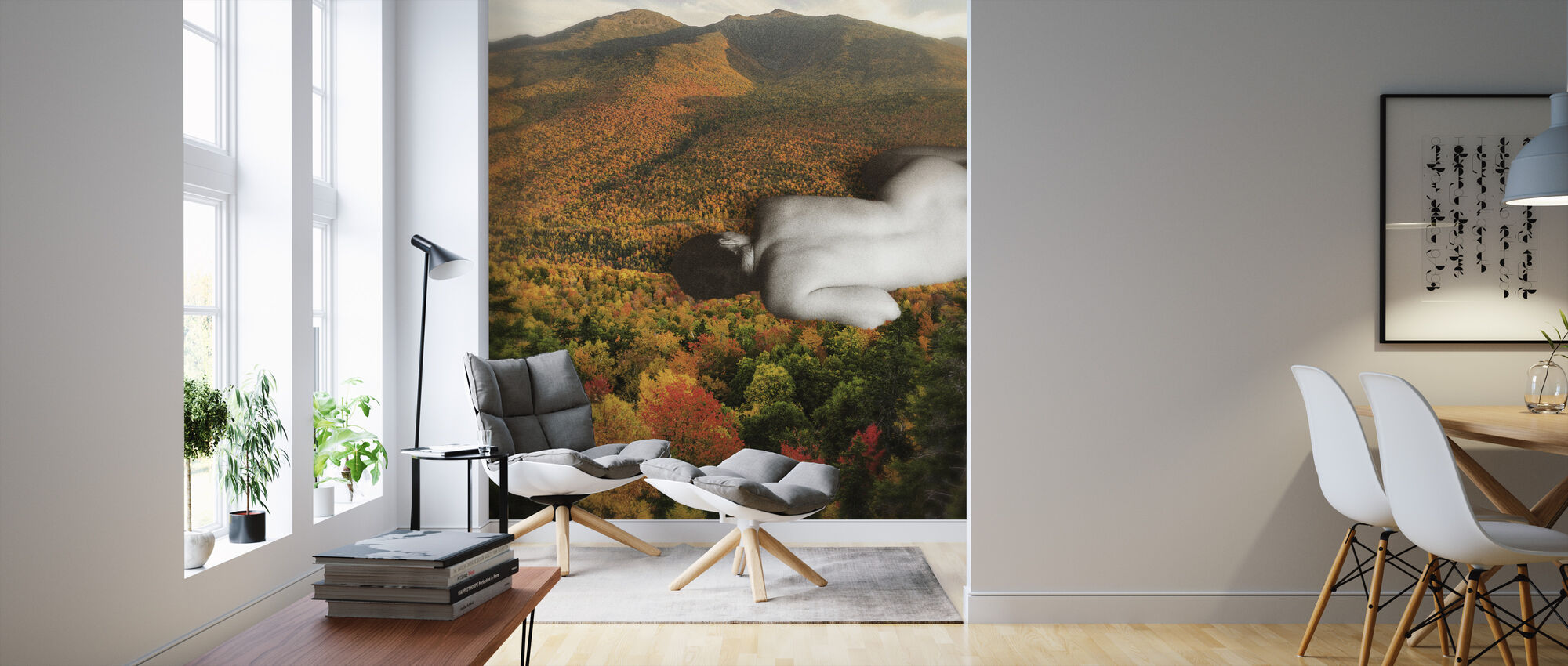 Fall - Wallpaper - Living Room