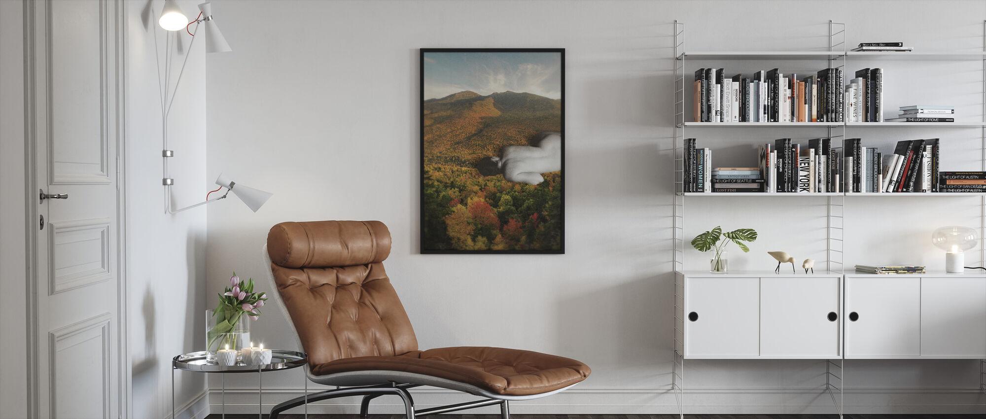 Fall - Framed print - Living Room