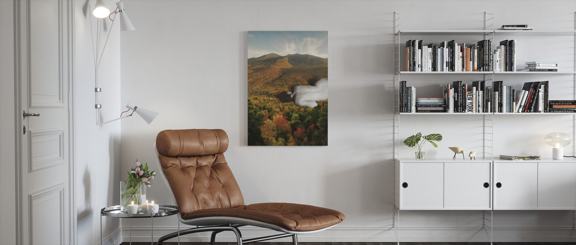 Fall - Canvas print - Living Room