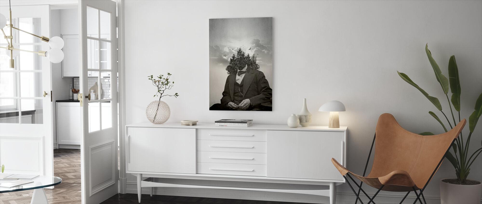 Skog - Canvastavla - Vardagsrum