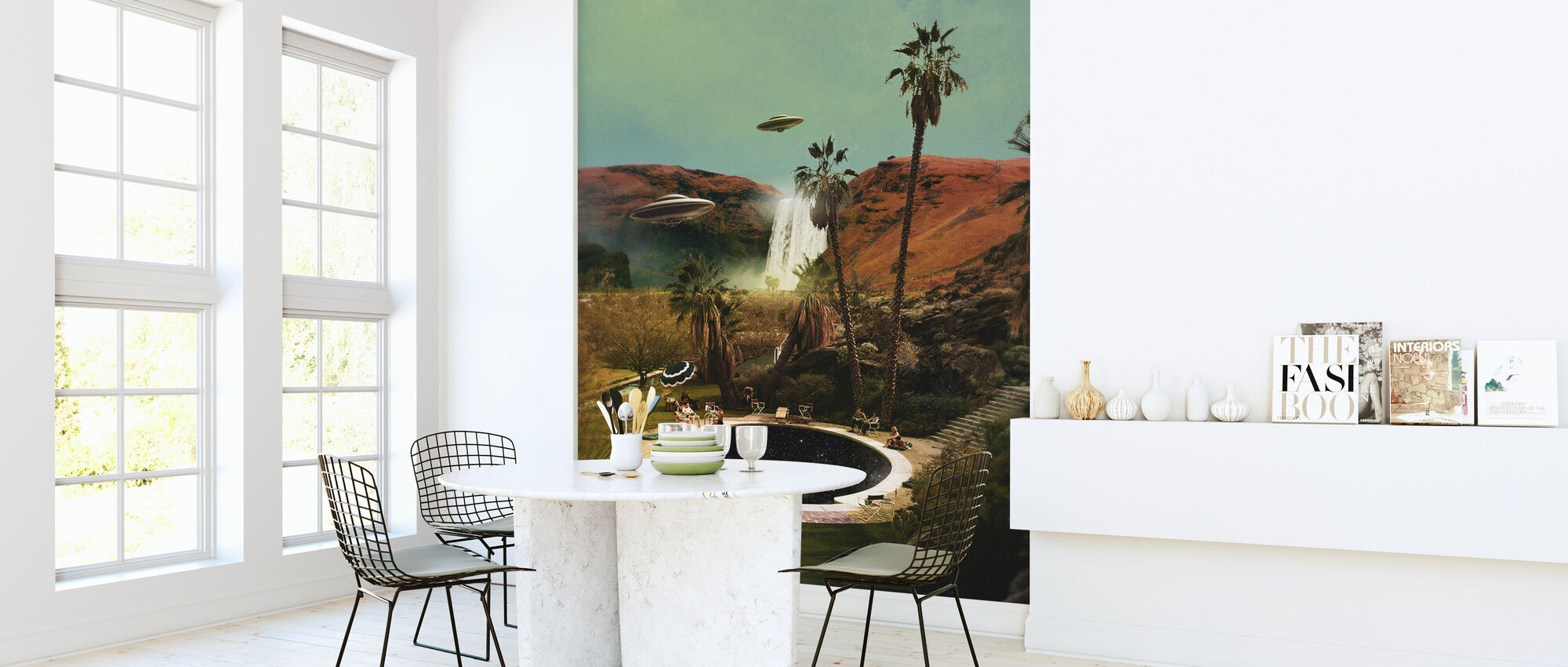 Guests - Wallpaper - Kitchen