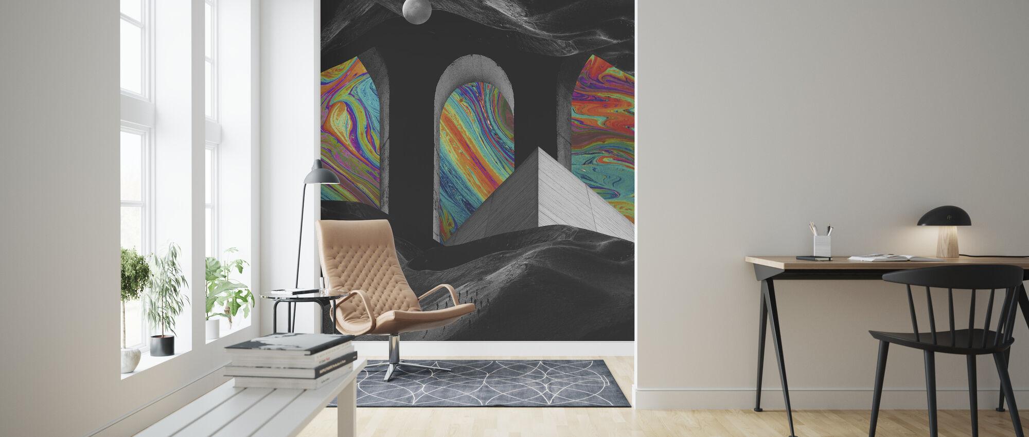 Hoc - Wallpaper - Living Room