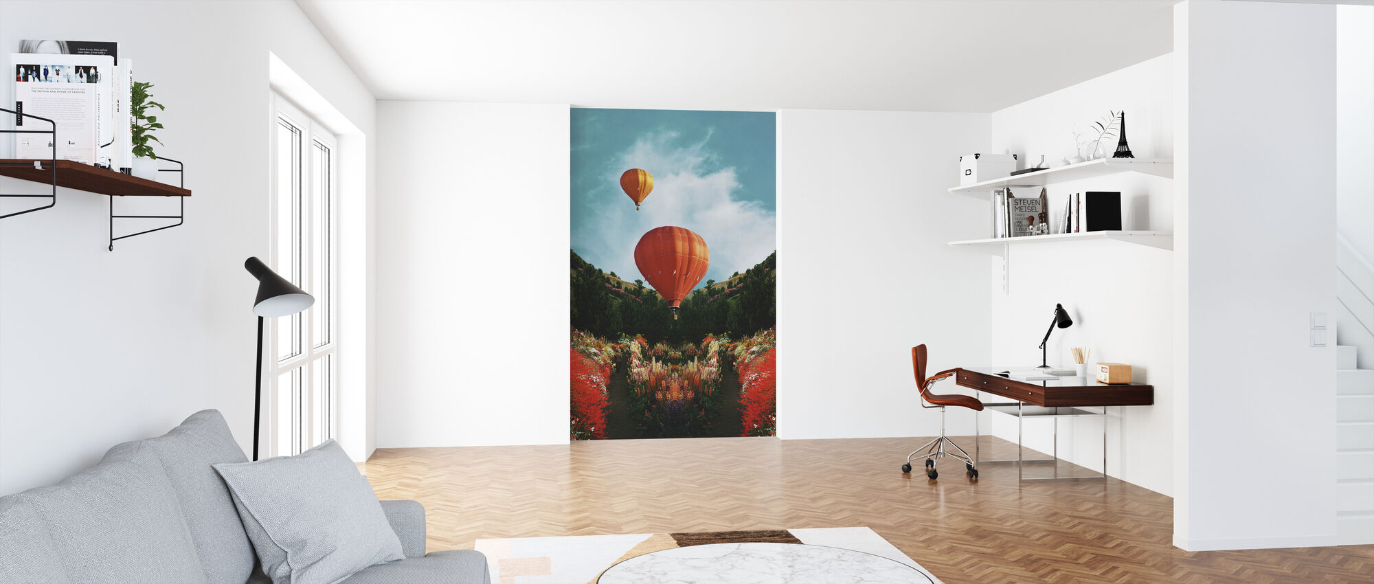 Hot Air - Wallpaper - Office