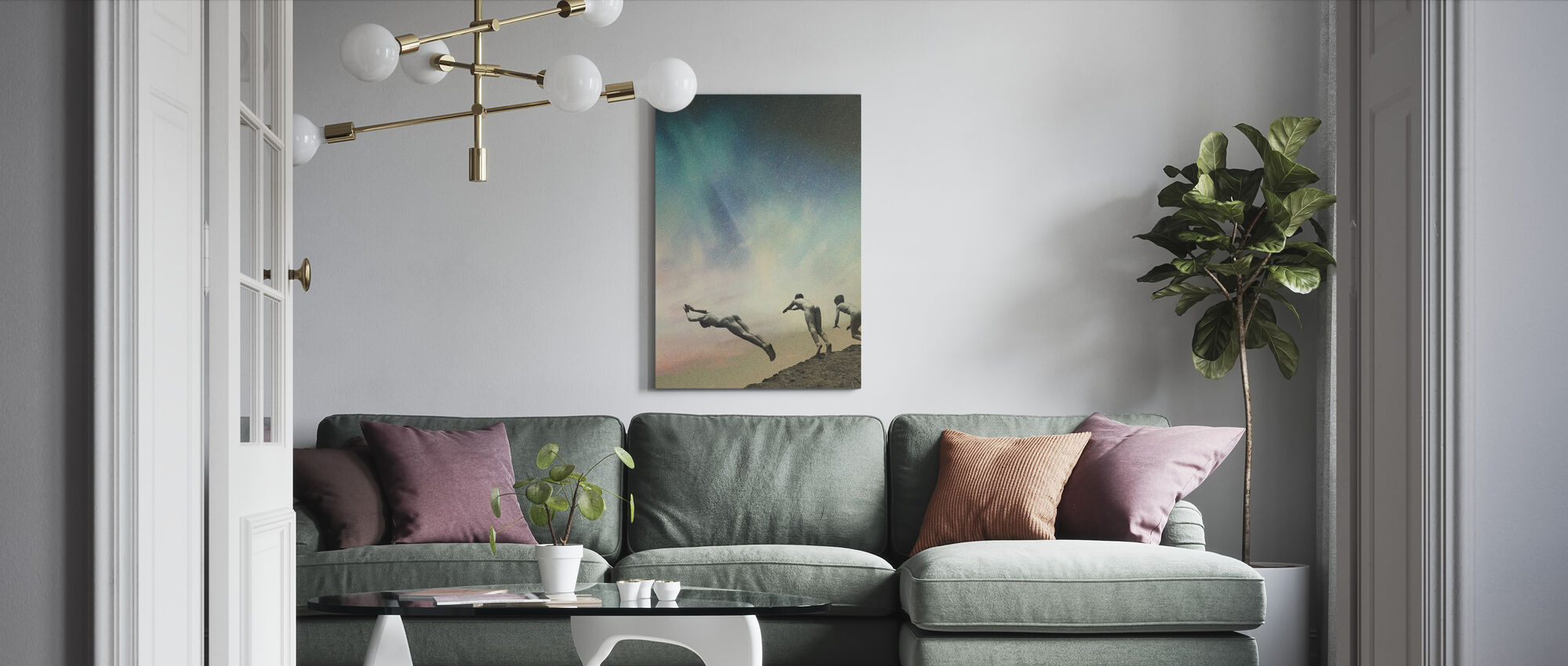 Kids - Canvas print - Living Room