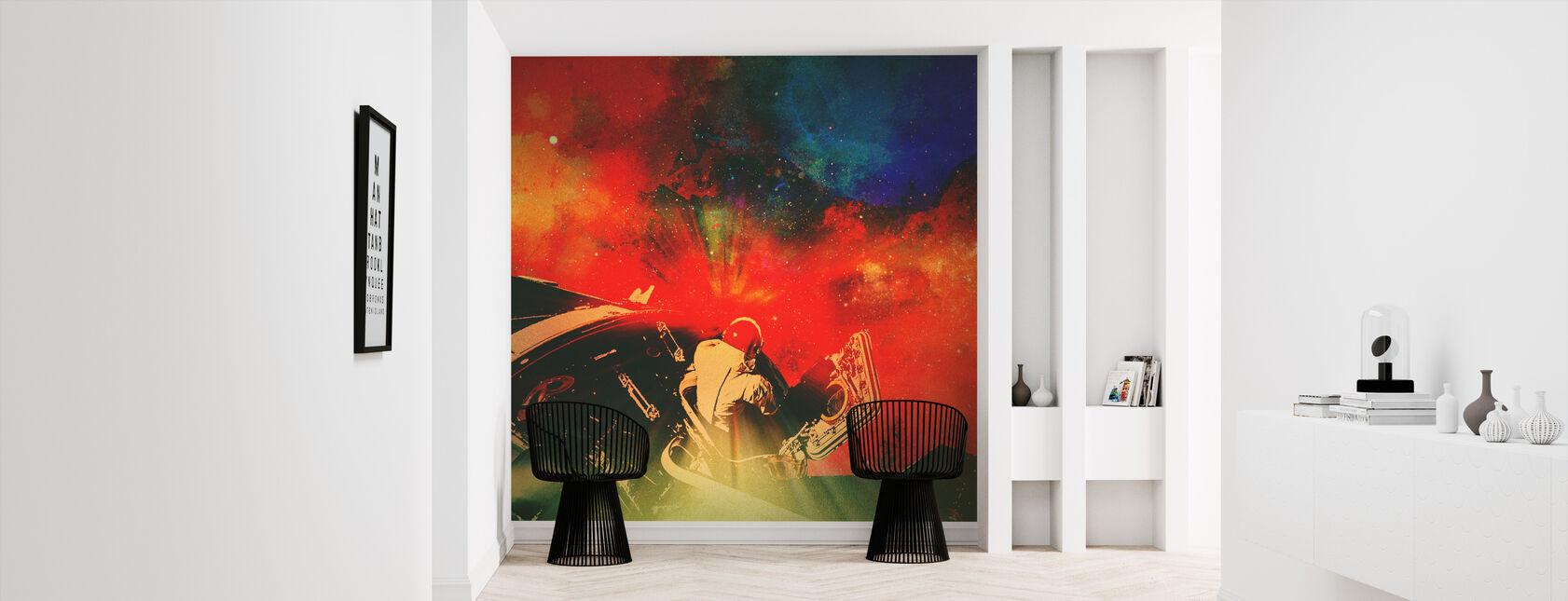 Psychonaut - Wallpaper - Hallway