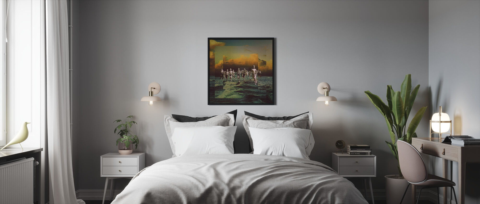Runaway - Framed print - Bedroom