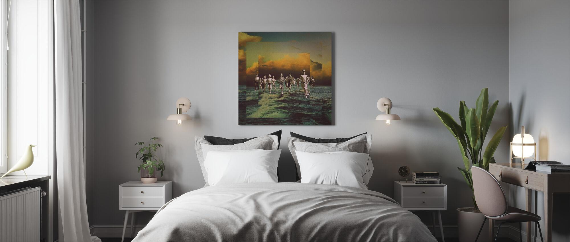 Ausreißer - Leinwandbild - Schlafzimmer
