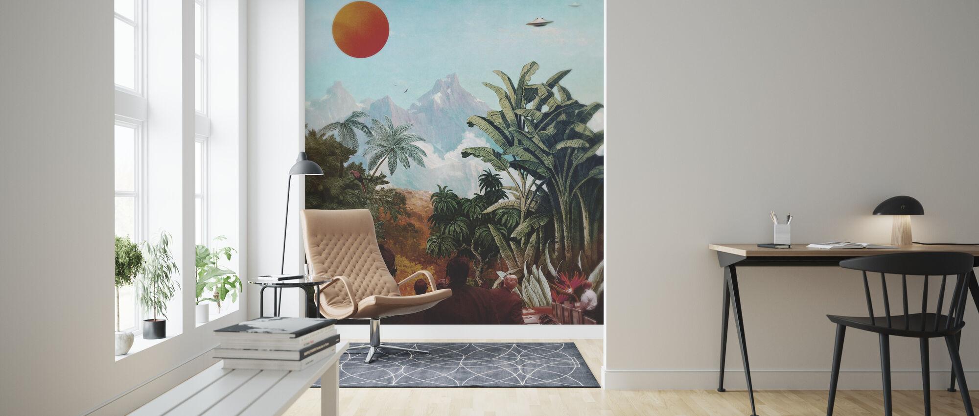 Seti - Wallpaper - Living Room