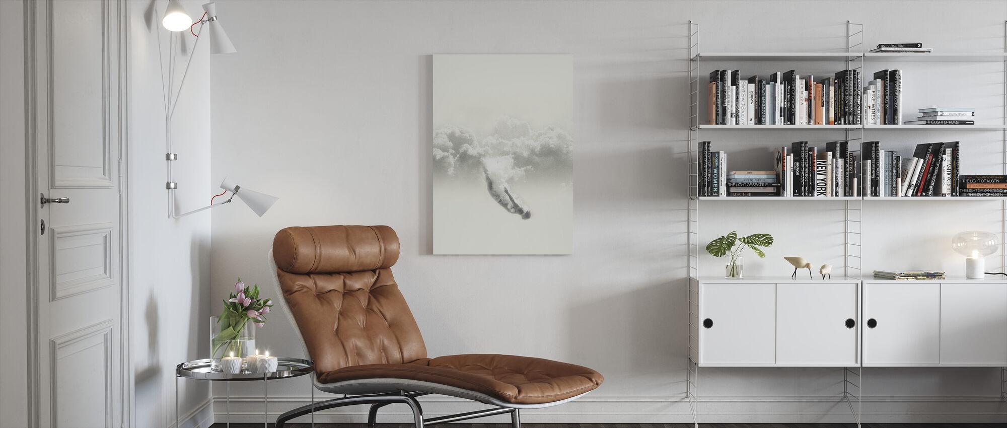 Sky Diver - Canvas print - Living Room