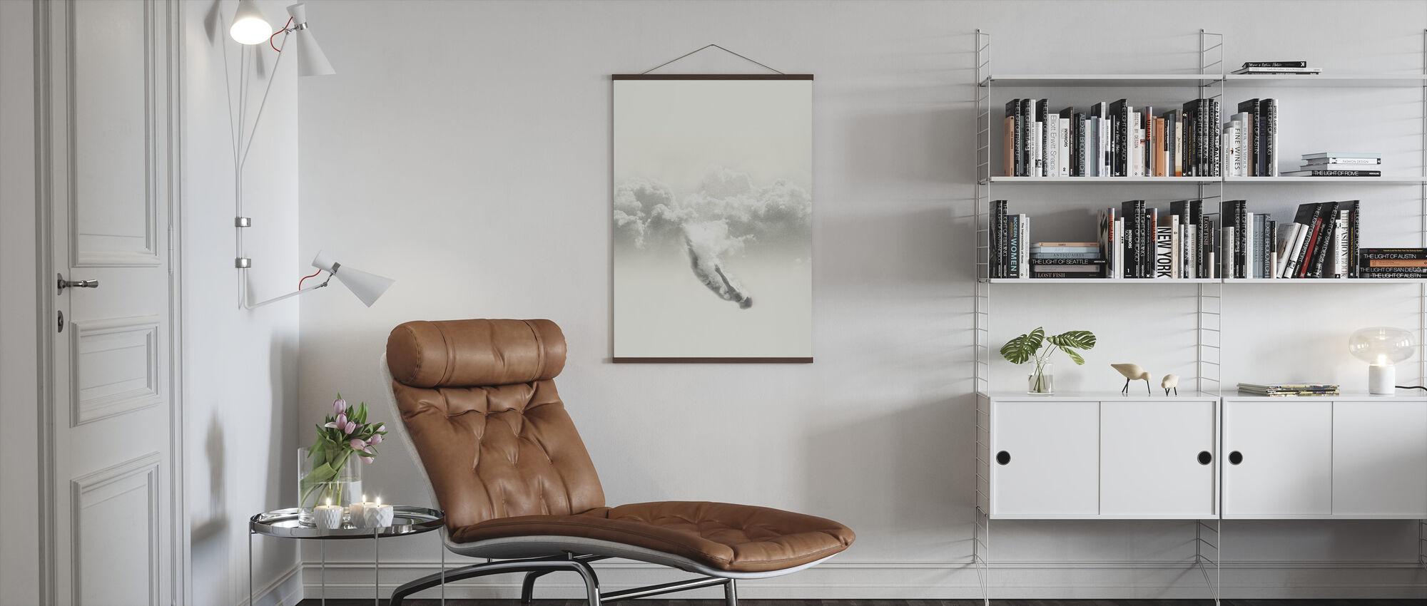 Sky Diver - Poster - Living Room