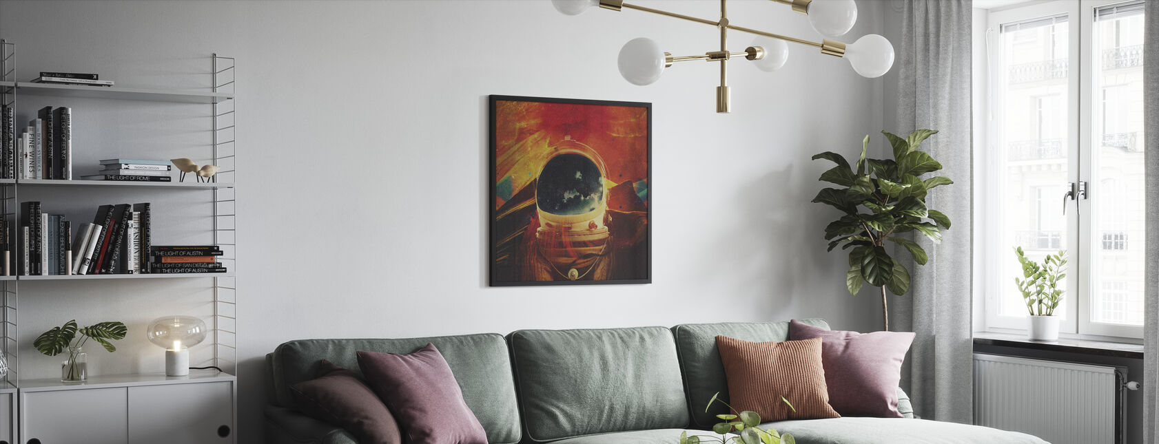 Soulseek - Innrammet bilde - Stue