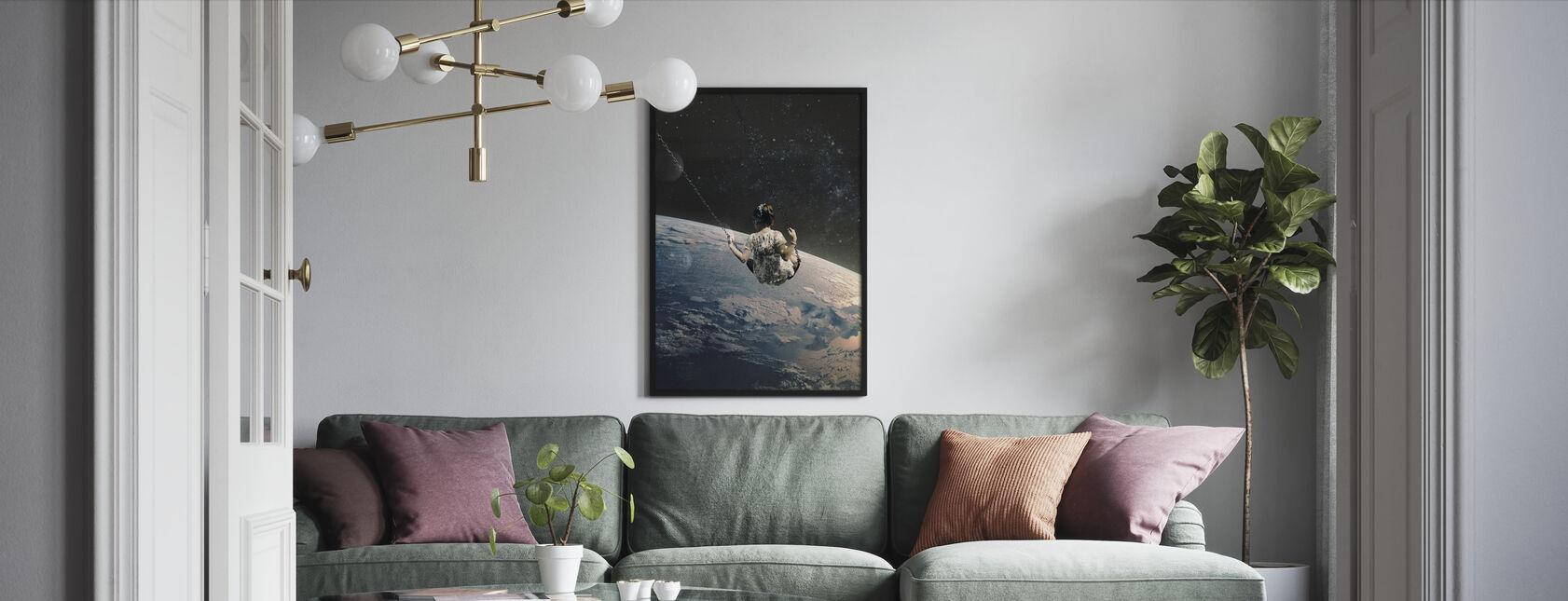 Schaukel - Gerahmtes bild - Wohnzimmer