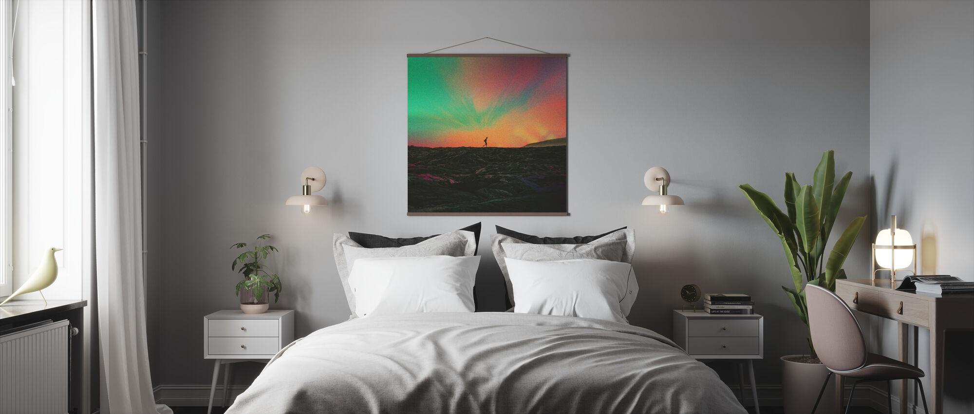 Zwerver - Poster - Slaapkamer