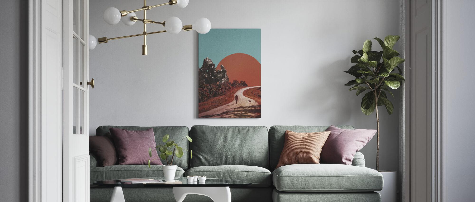 Walk - Canvas print - Living Room