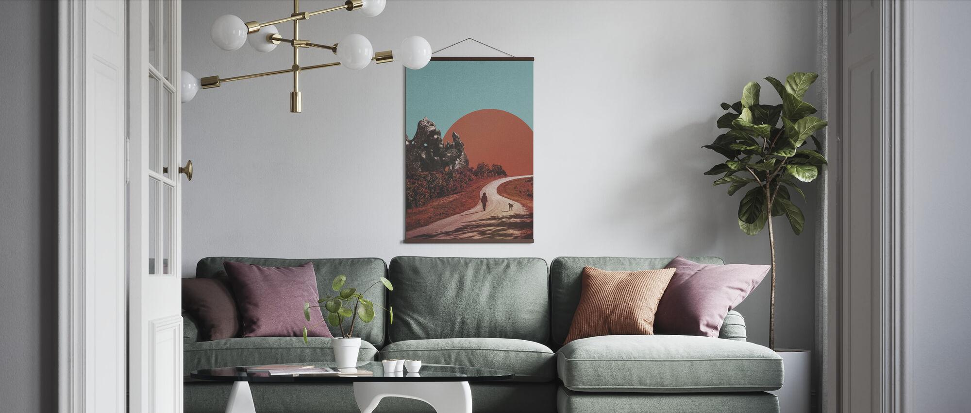 Gå - Poster - Vardagsrum