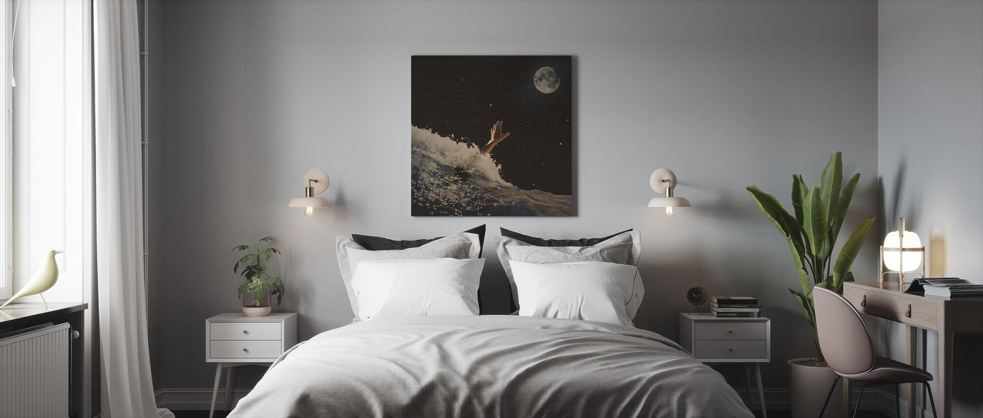 Wave Goodbye - Canvas print - Bedroom