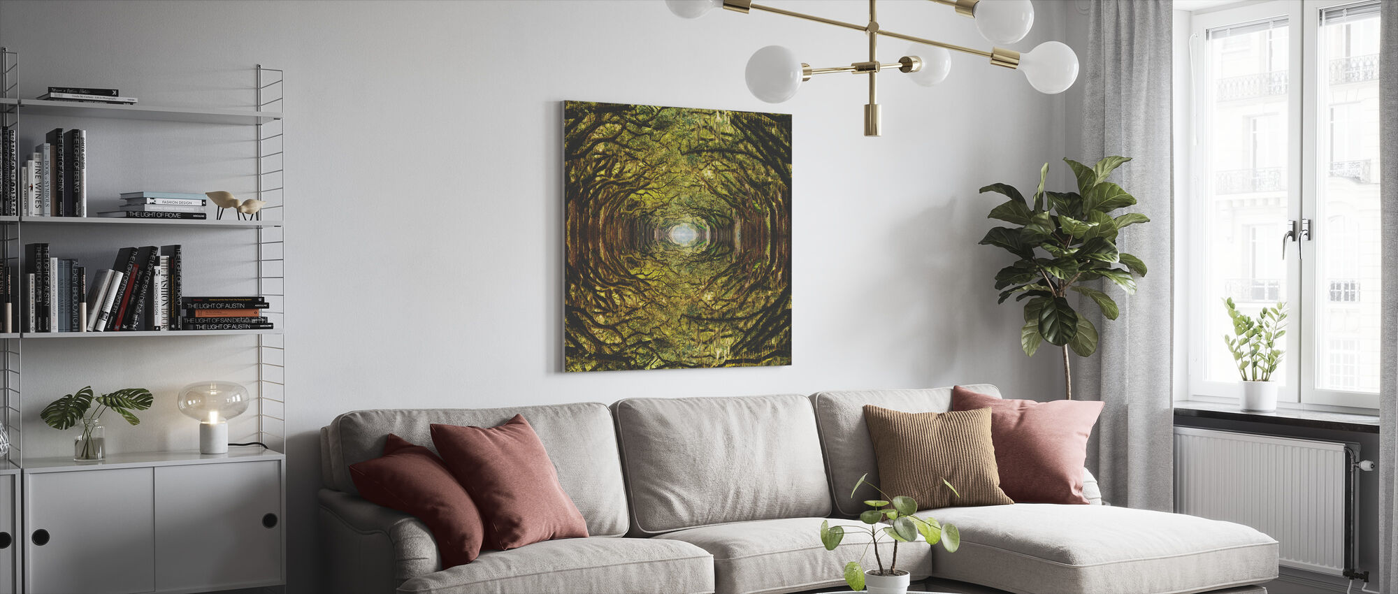 Woods - Canvas print - Living Room