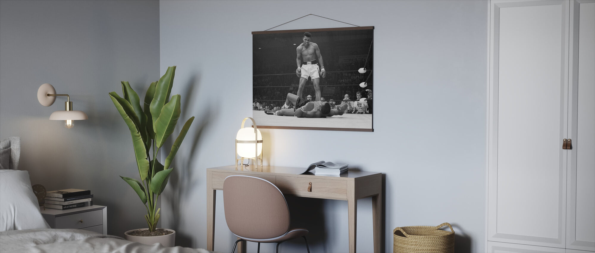 Muhammad Ali vs Sonny Liston - Poster - Office