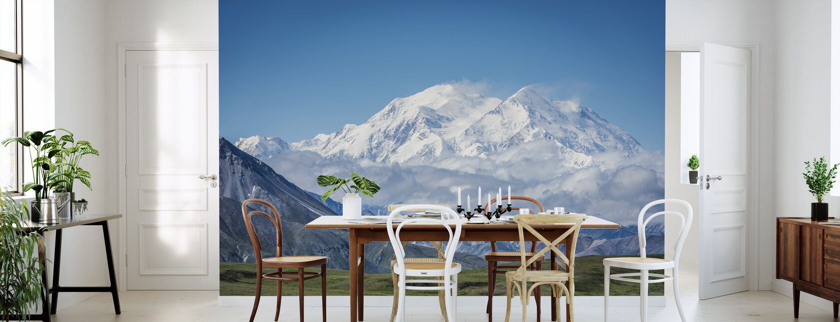 Mt Denali Alaska - Wallpaper - Kitchen