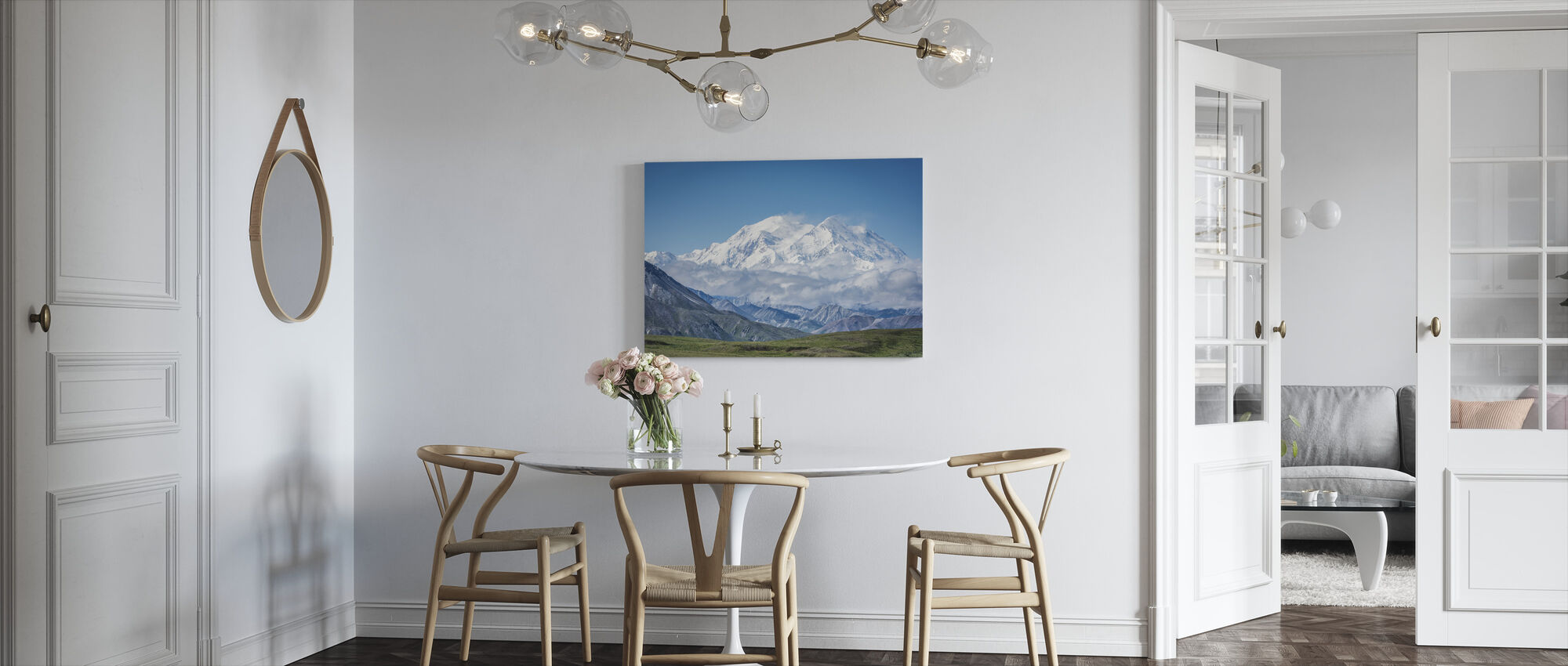 Mt Denali Alaska - Canvas print - Kitchen