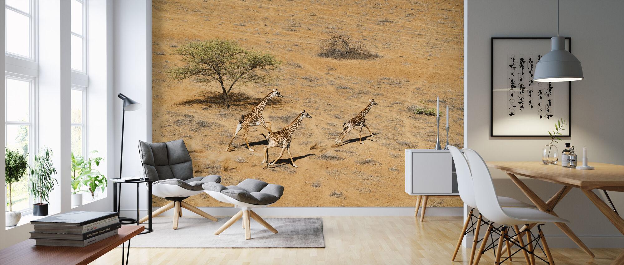 Family Paradise - Wallpaper - Living Room
