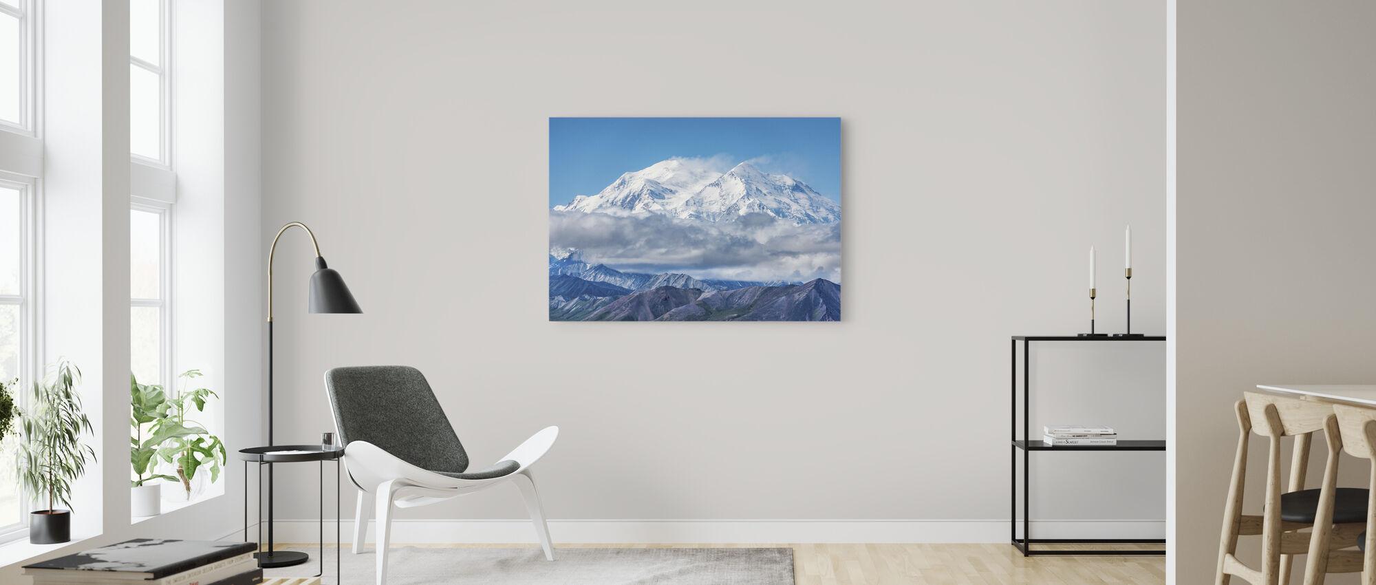 Departing Storm - Canvas print - Living Room
