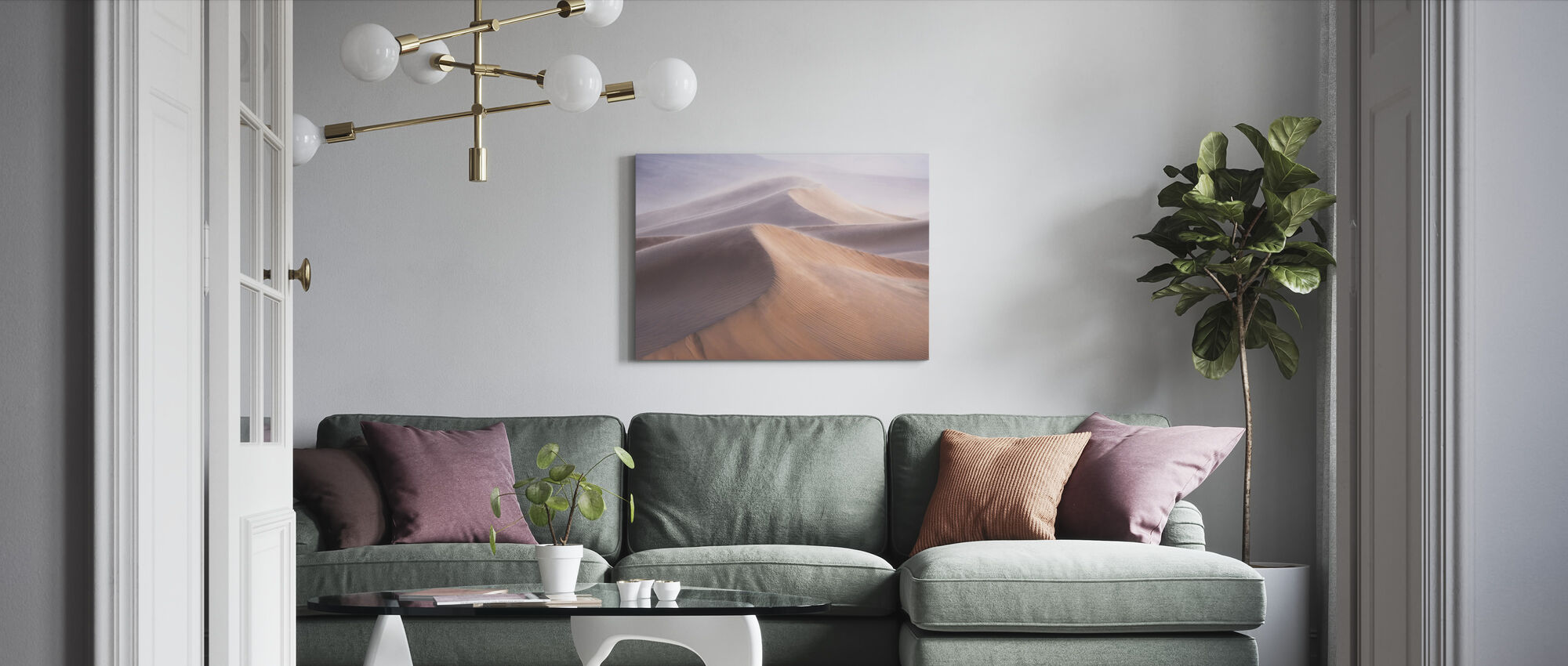 Wind - Canvas print - Living Room