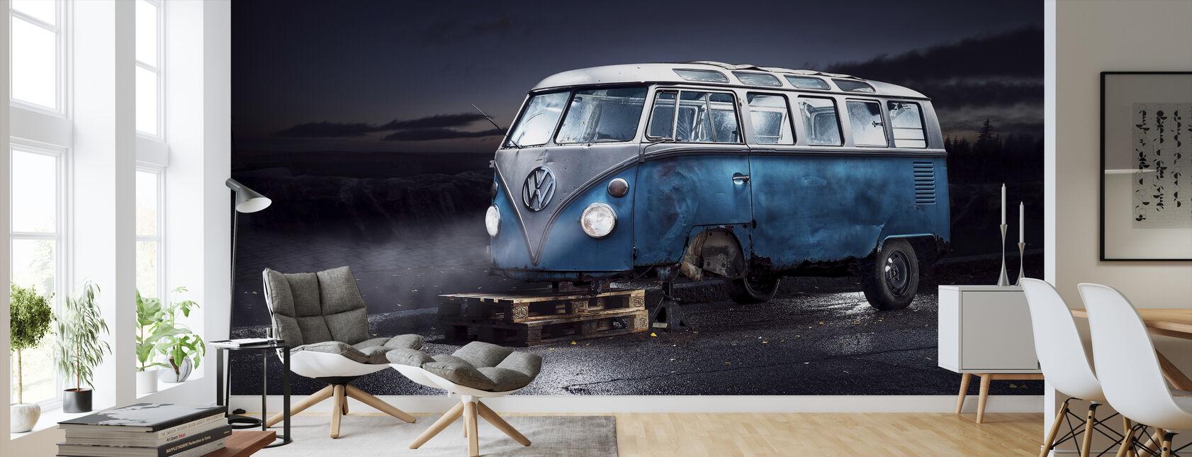 VW-minibus - Behang - Woonkamer