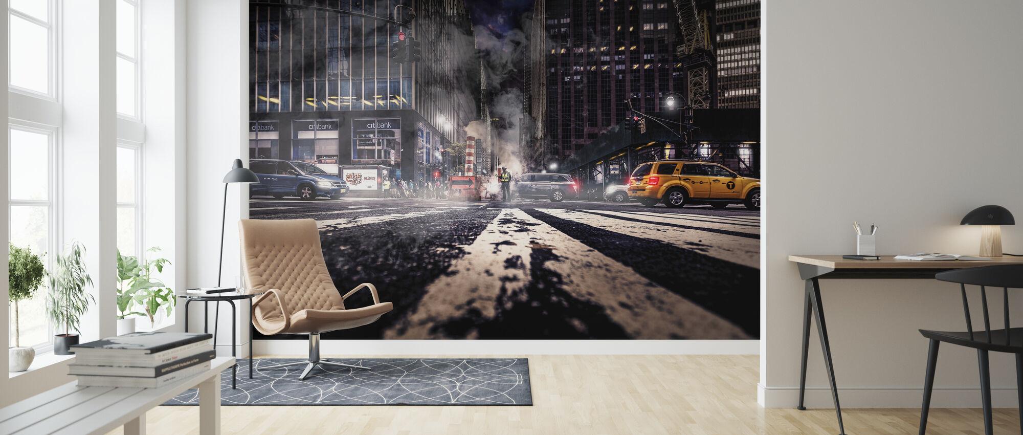 Gotham bryta gryning - Tapet - Vardagsrum