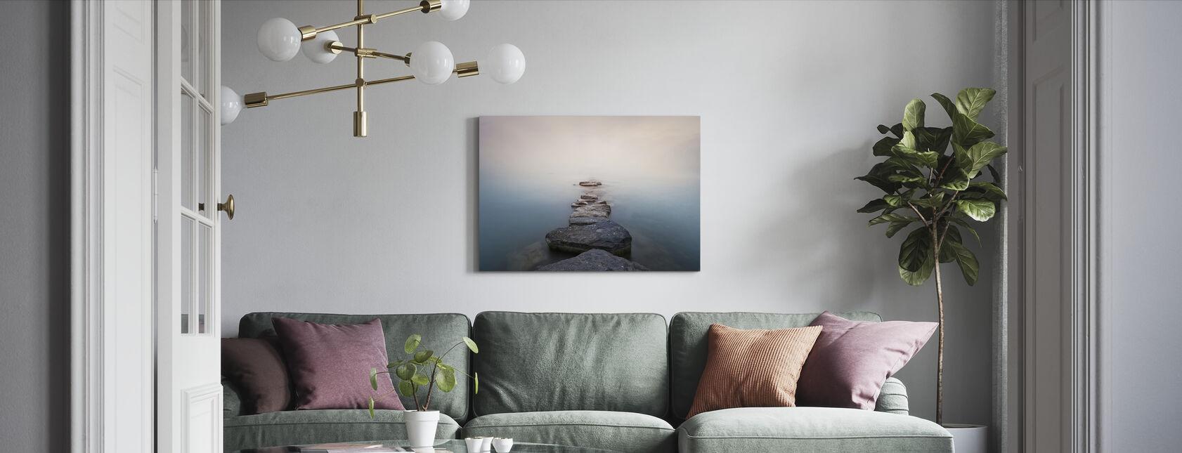 Piedras - Lienzo - Salón
