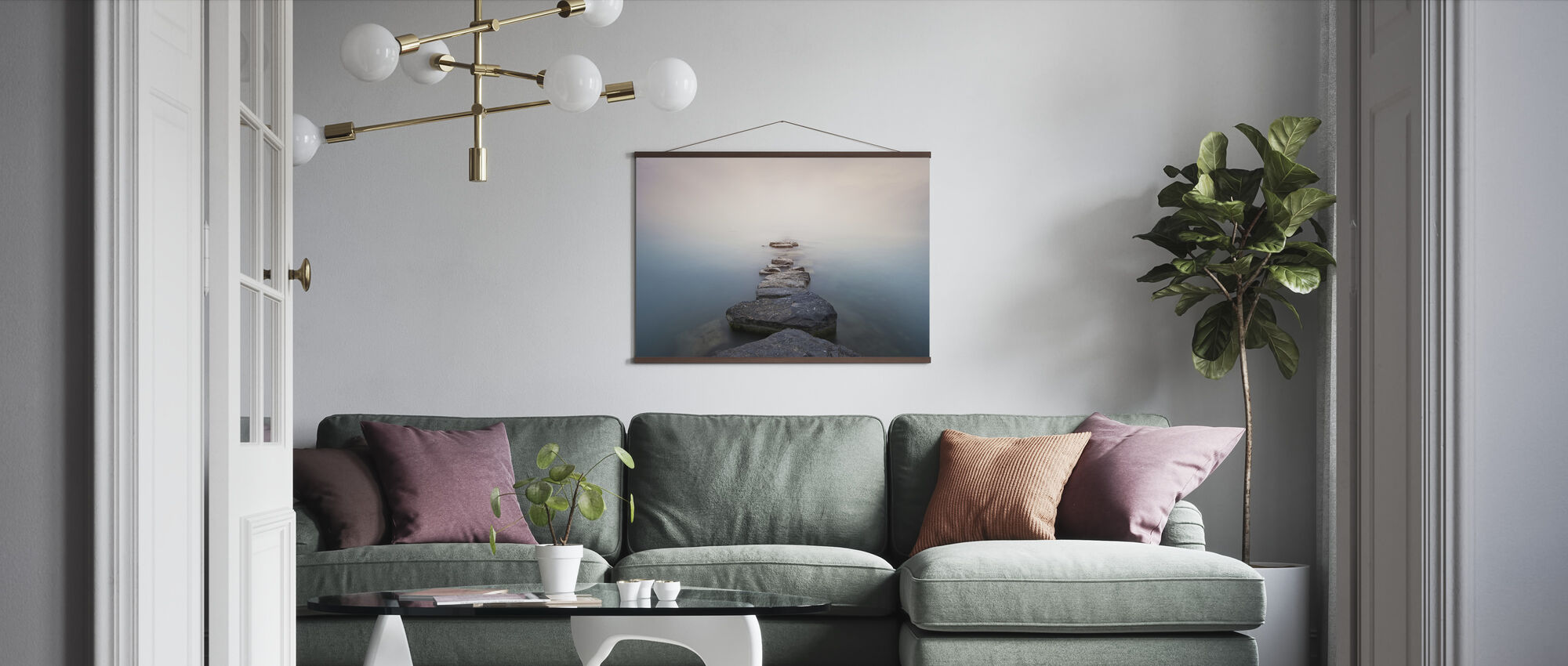 Stones - Poster - Living Room